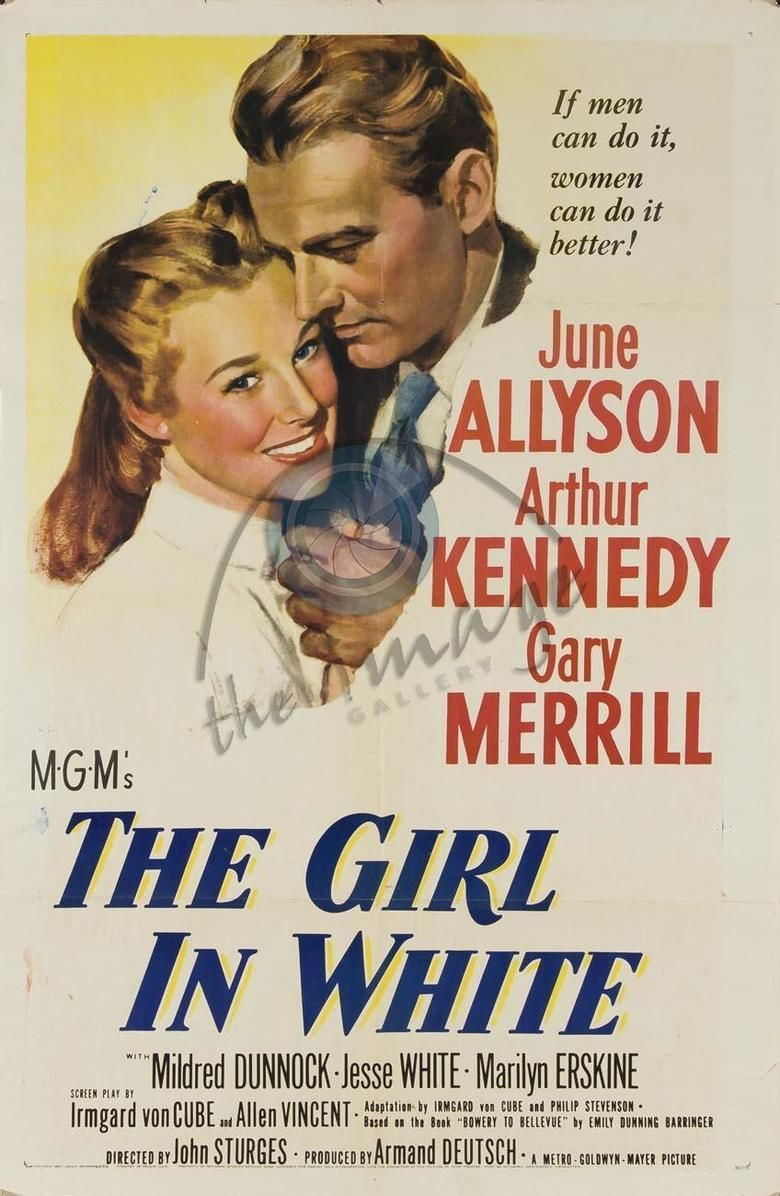 The Girl in White movie poster