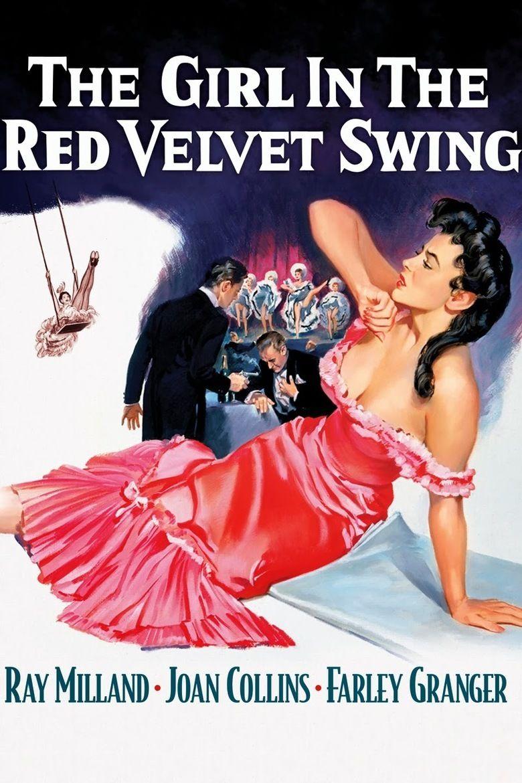 The Girl in the Red Velvet Swing movie poster