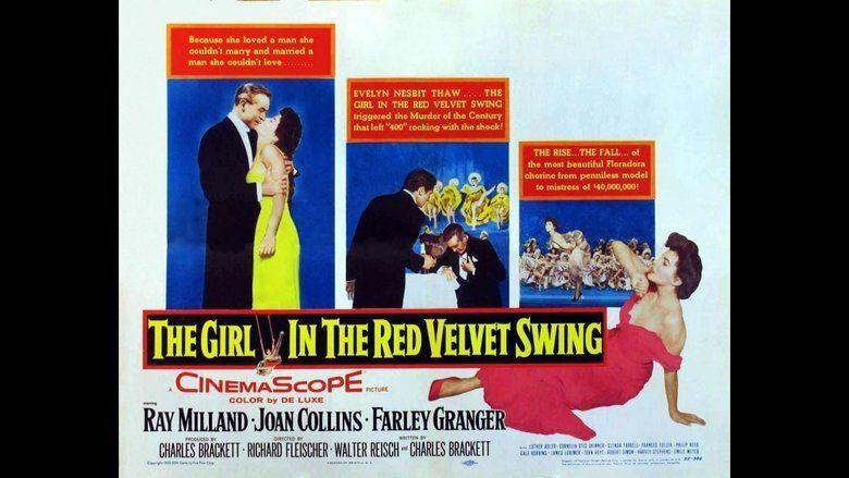 The Girl in the Red Velvet Swing movie scenes