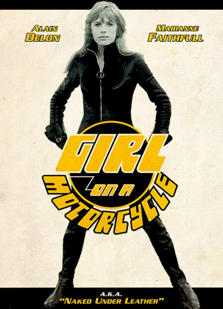 The Girl on a Motorcycle movie poster