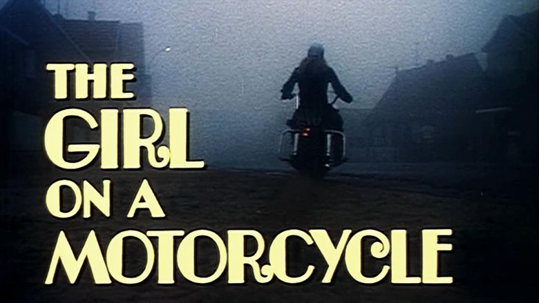 The Girl on a Motorcycle movie scenes