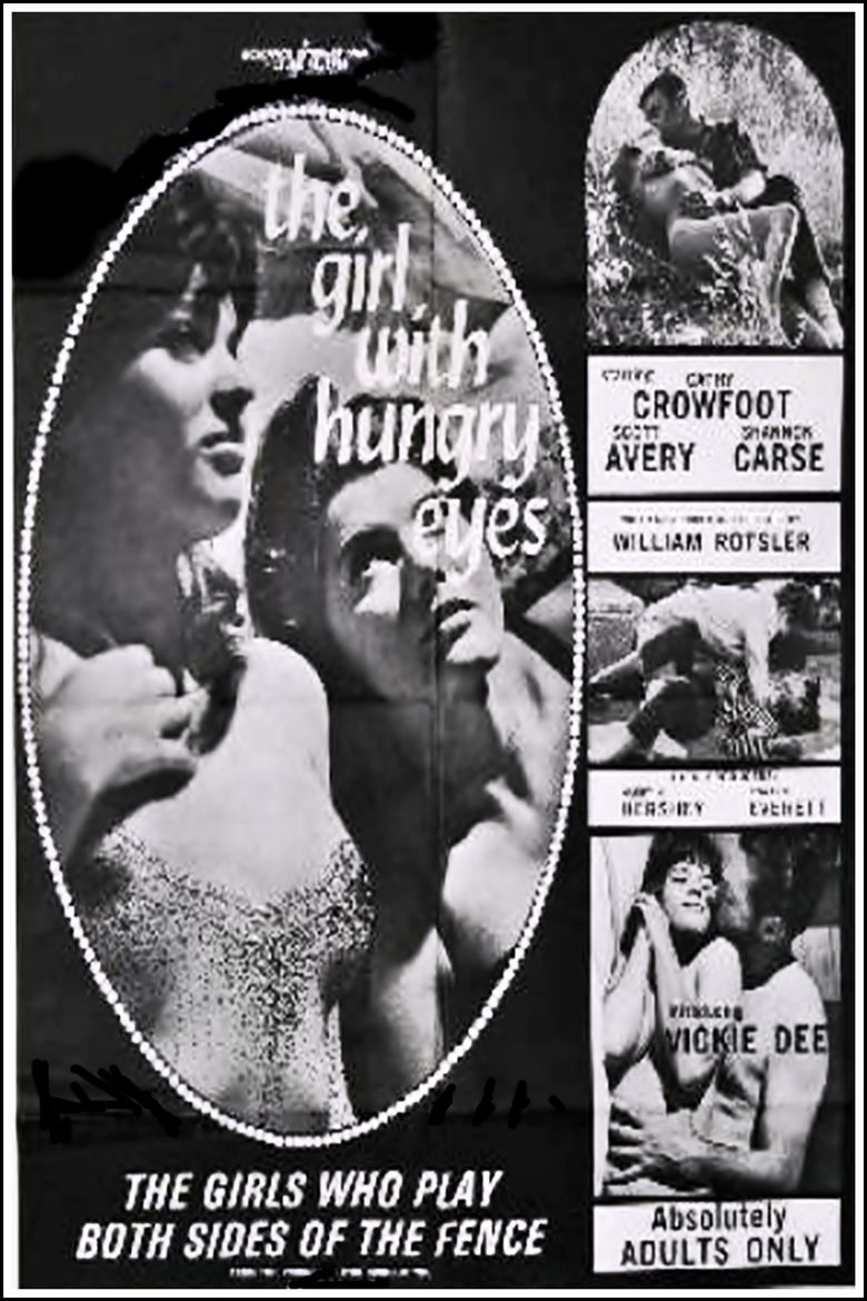 The Girl with the Hungry Eyes (1967 film) movie poster