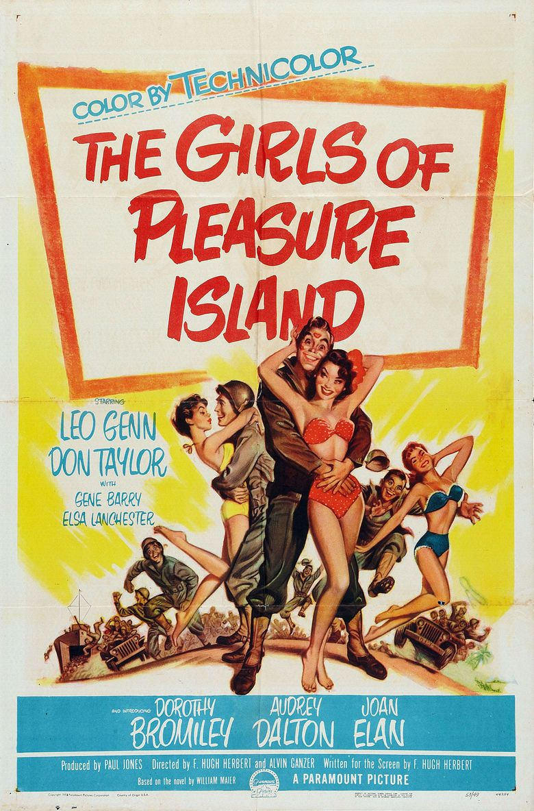 The Girls of Pleasure Island movie poster