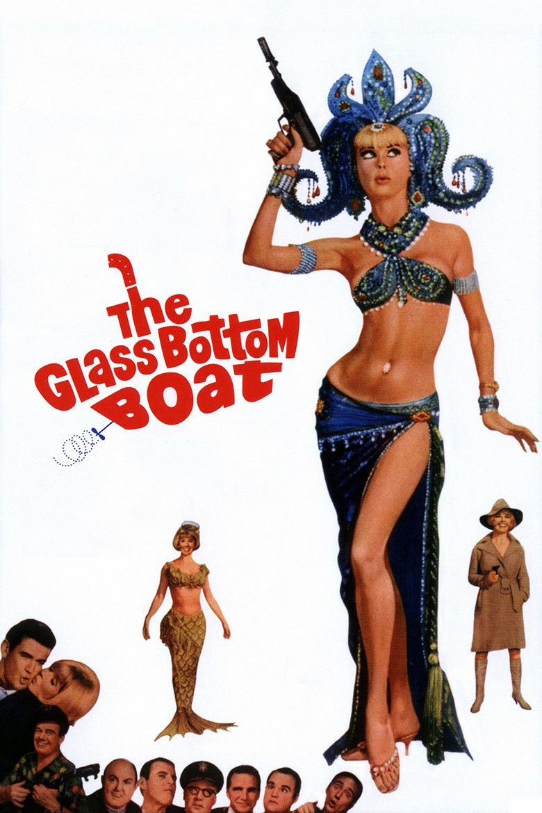 The Glass Bottom Boat movie poster
