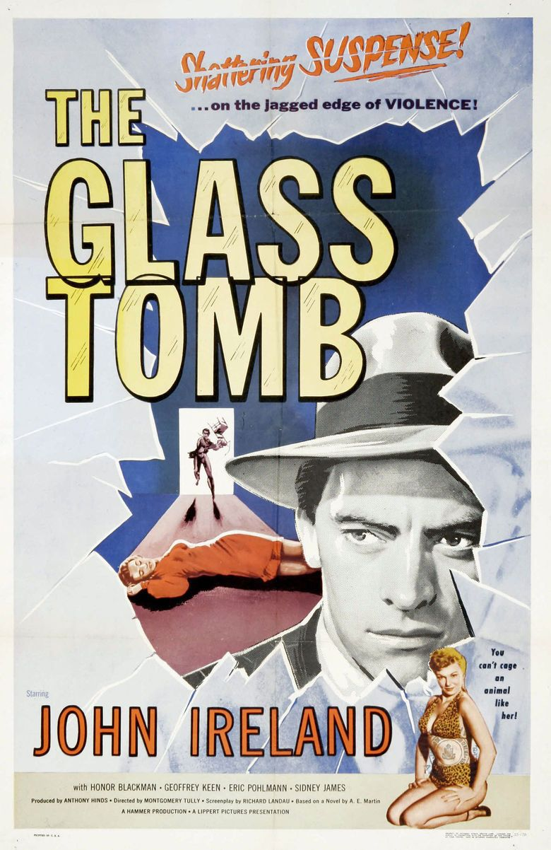 The Glass Cage (1955 film) movie poster