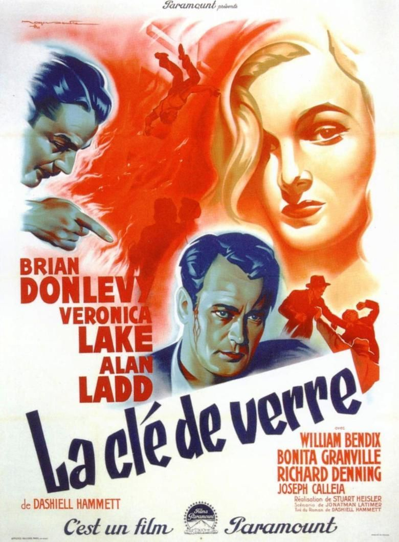 The Glass Key (1942 film) movie poster