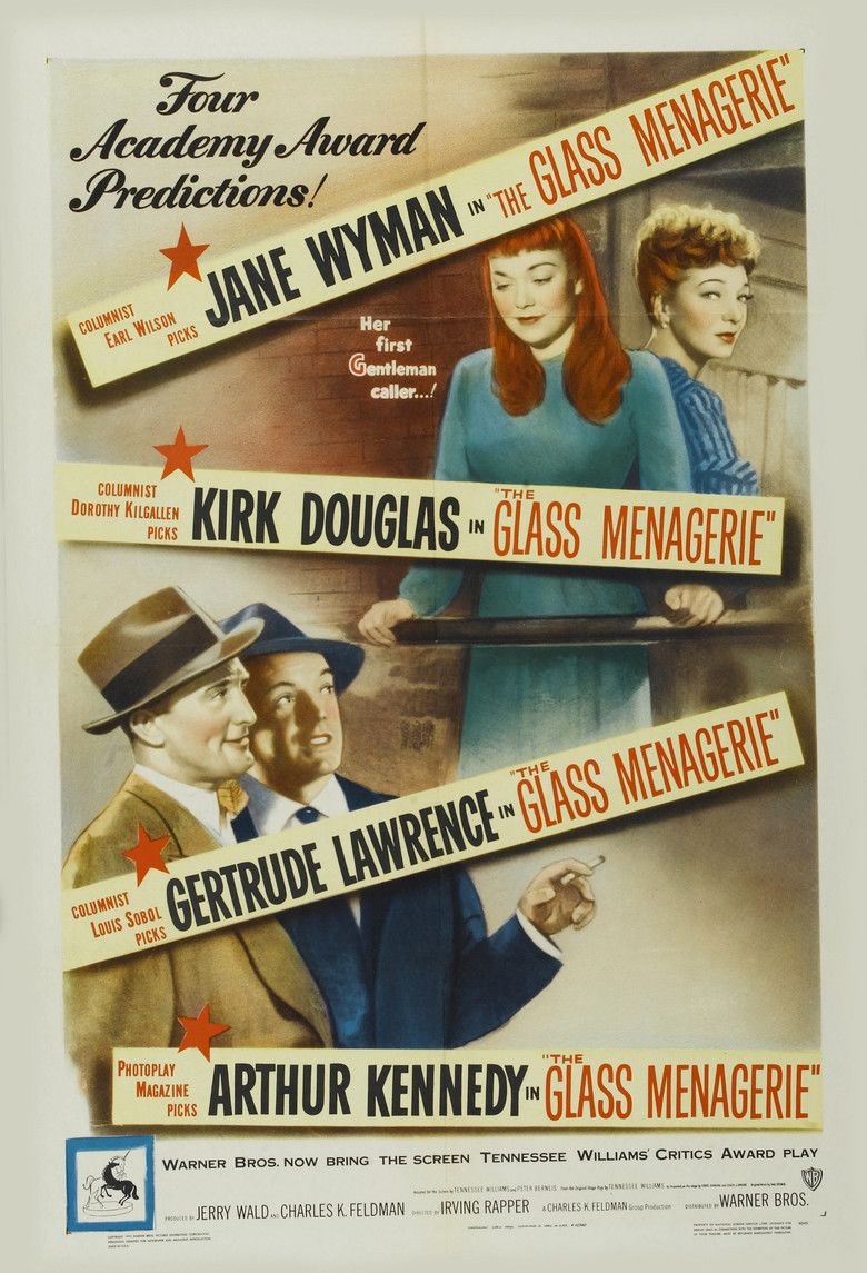 The Glass Menagerie (1950 film) movie poster