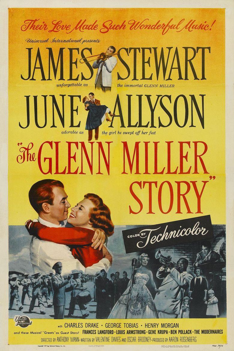 The Glenn Miller Story movie poster