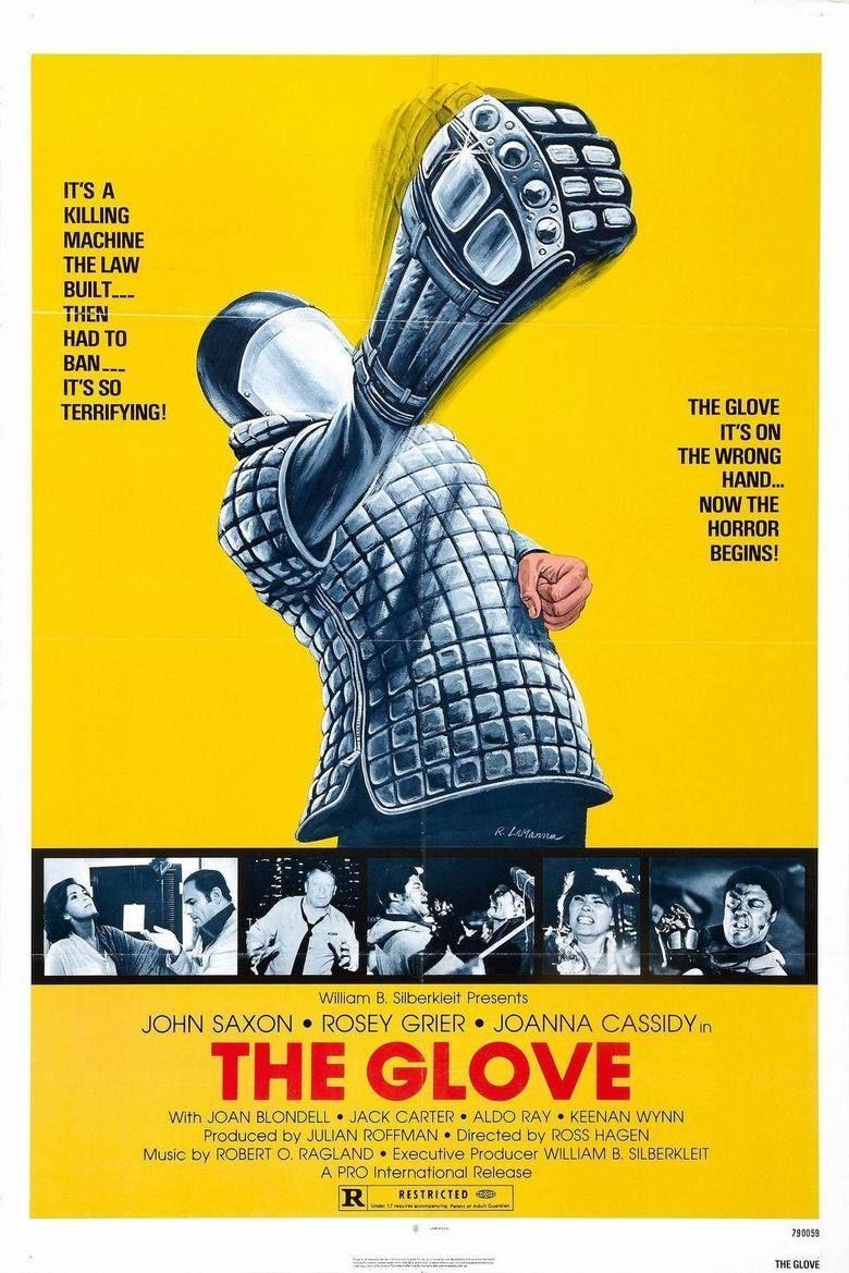 The Glove (film) movie poster