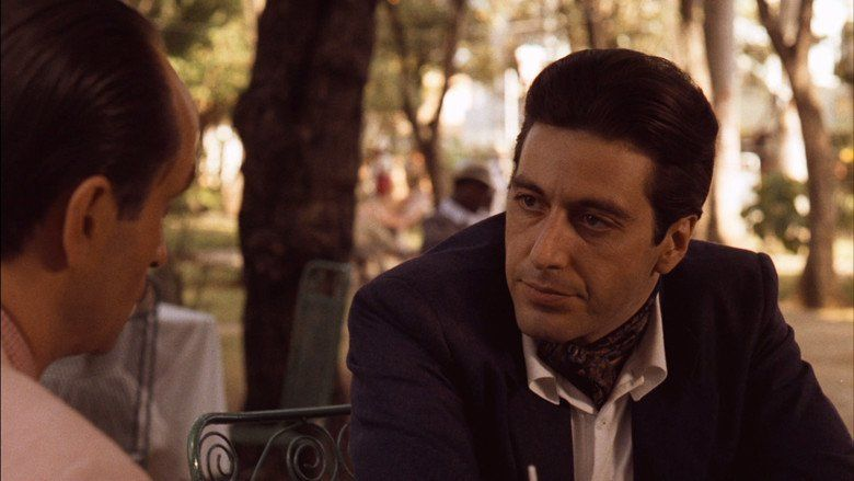 The Godfather Part II movie scenes