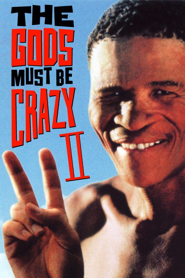The Gods Must Be Crazy II movie poster