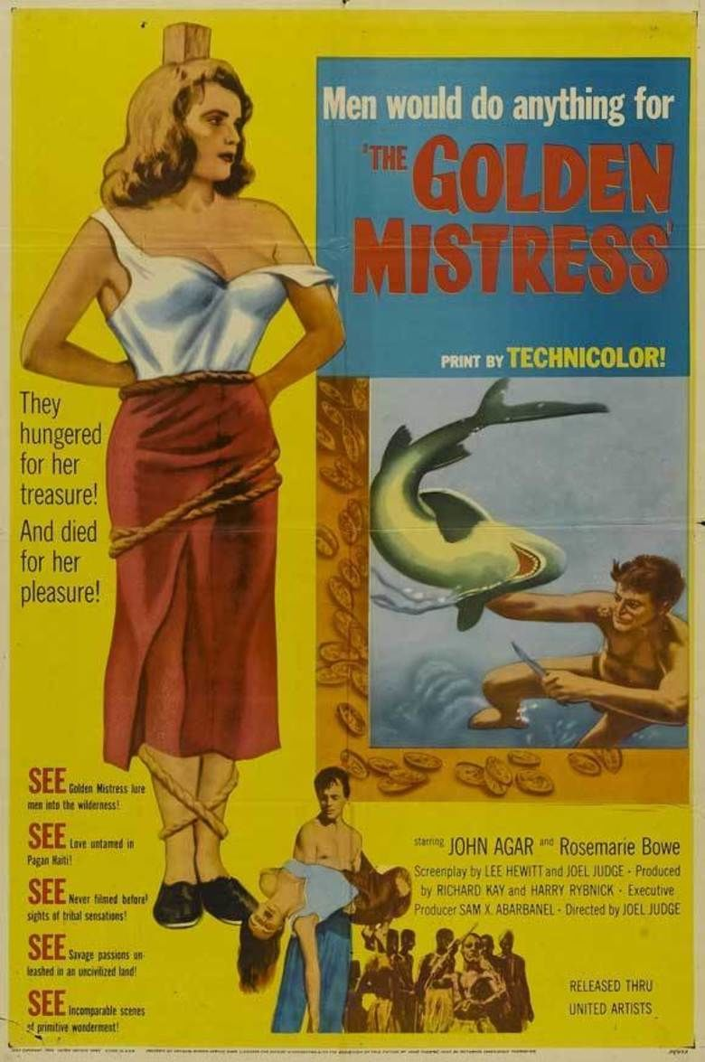 The Golden Mistress movie poster