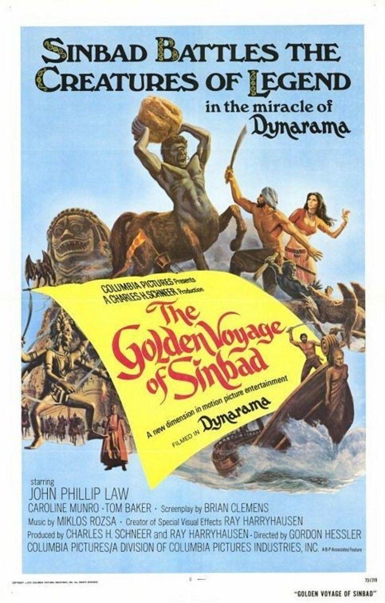The Golden Voyage of Sinbad movie poster