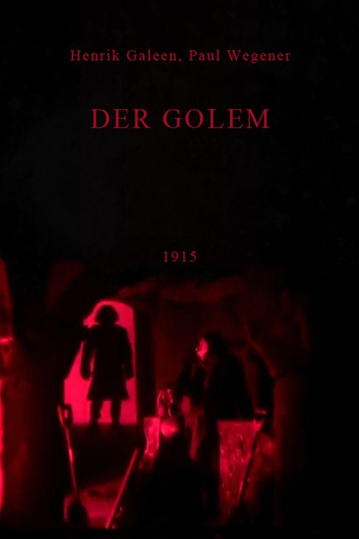 The Golem (1915 film) movie poster