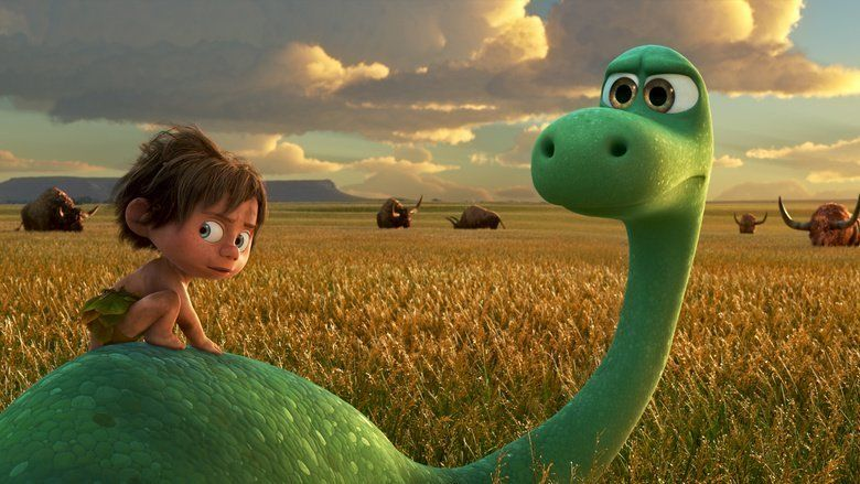 The Good Dinosaur movie scenes