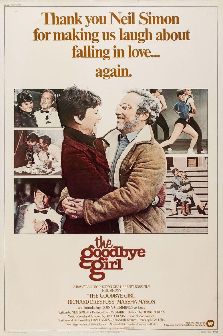 The Goodbye Girl movie poster