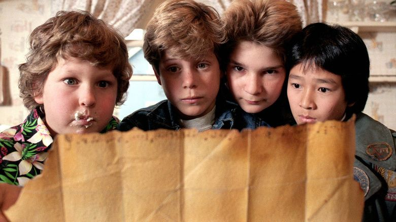 The Goonies movie scenes