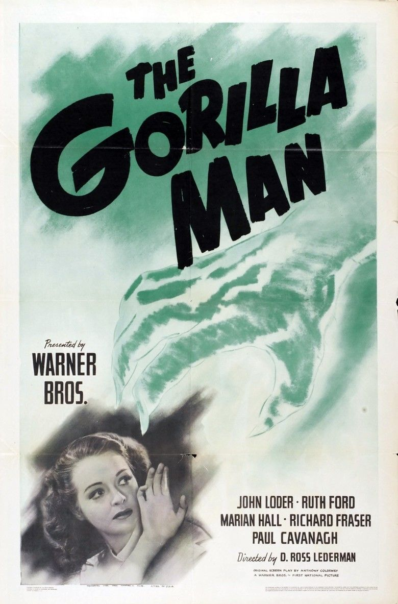 The Gorilla Man movie poster
