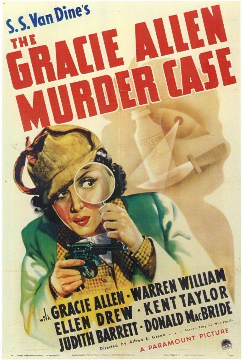 The Gracie Allen Murder Case (film) movie poster