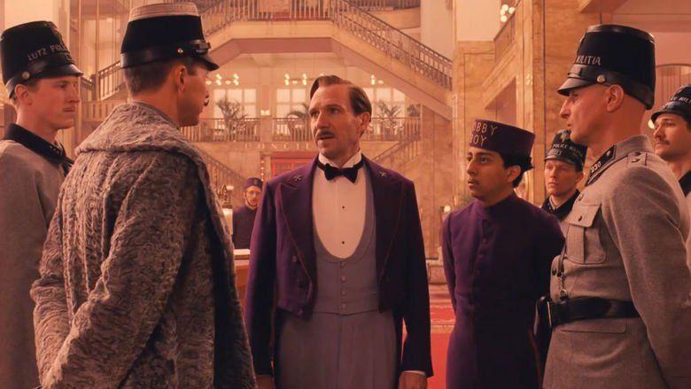 The Grand Budapest Hotel movie scenes