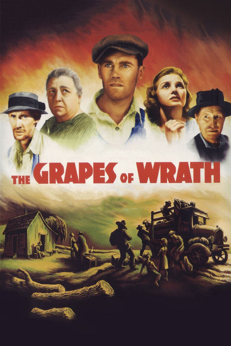 The Grapes of Wrath (film) movie poster