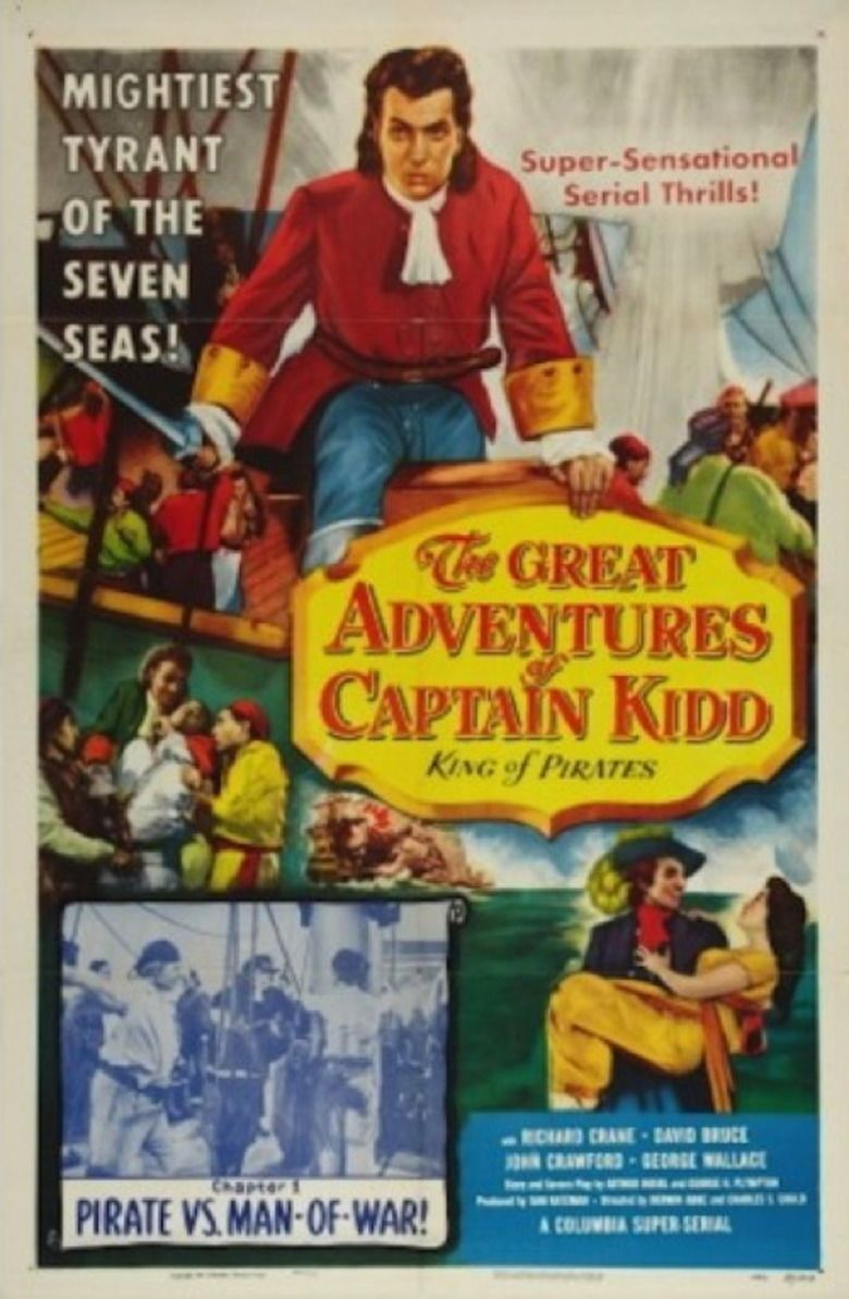 The Great Adventures of Captain Kidd movie poster