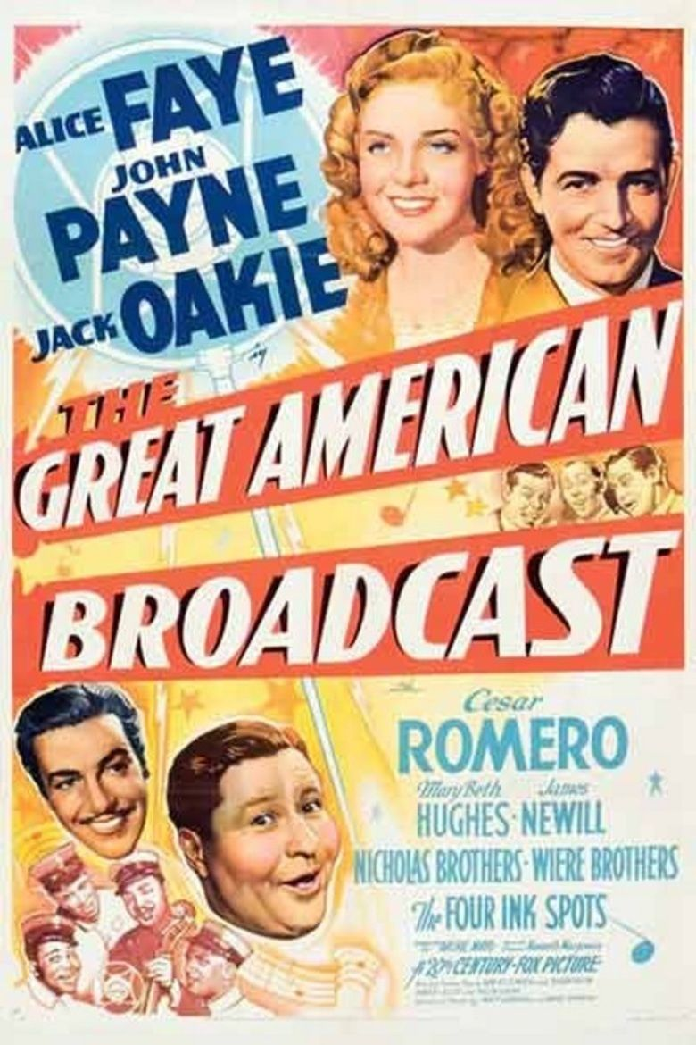 The Great American Broadcast movie poster