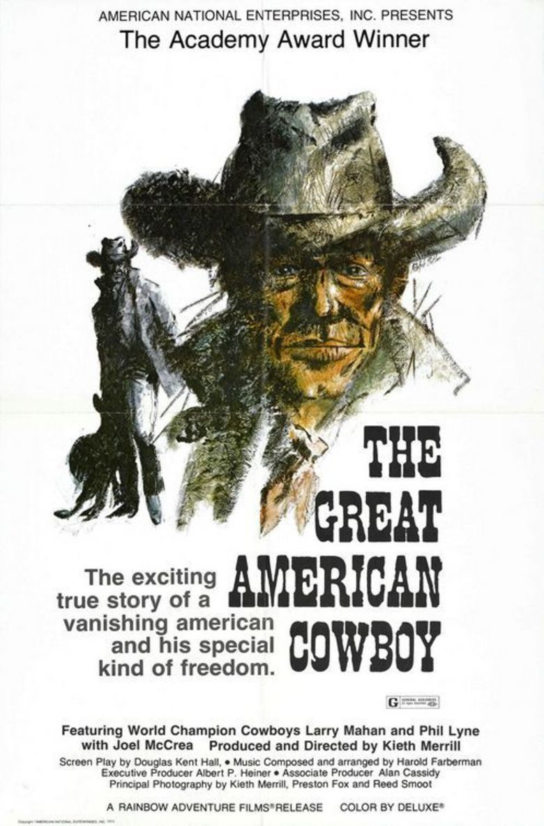 The Great American Cowboy movie poster