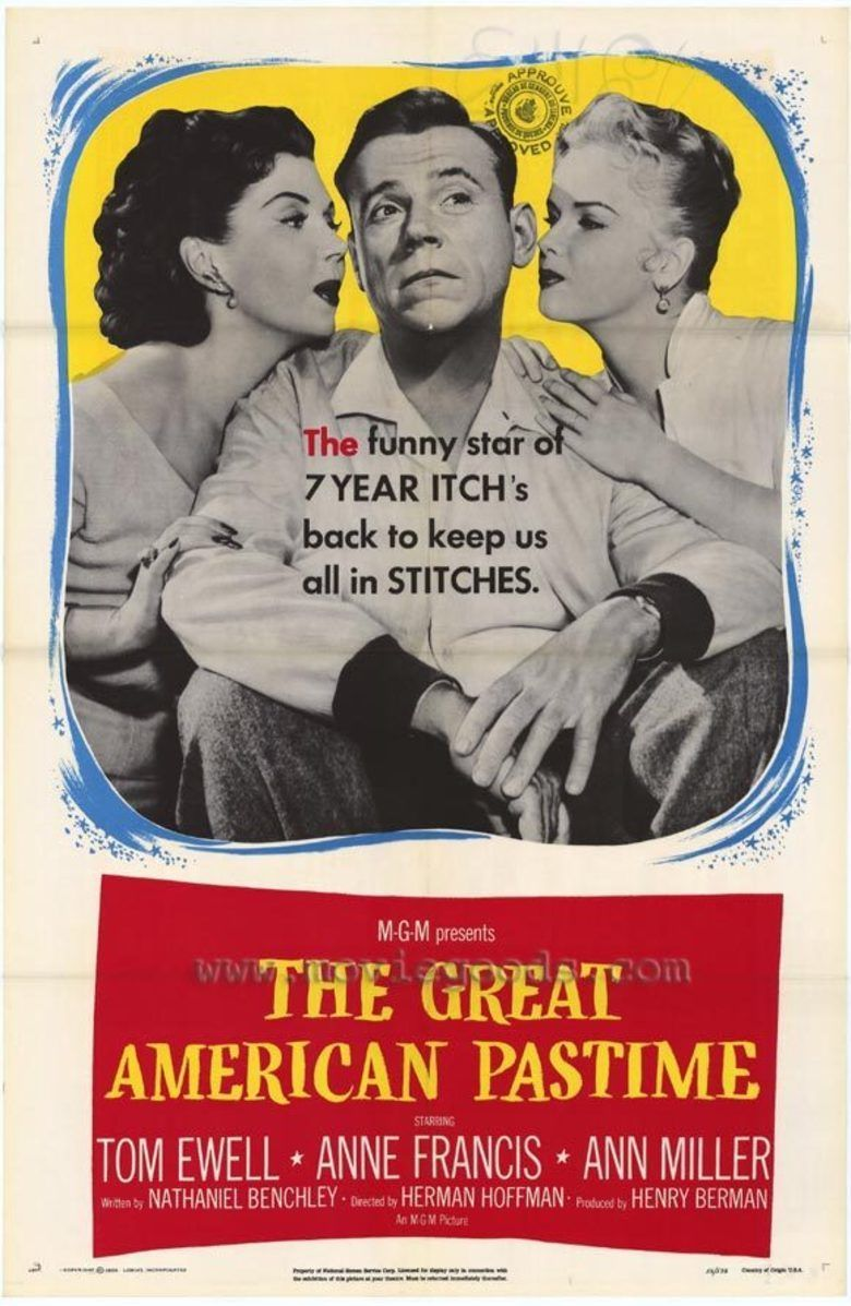 The Great American Pastime movie poster