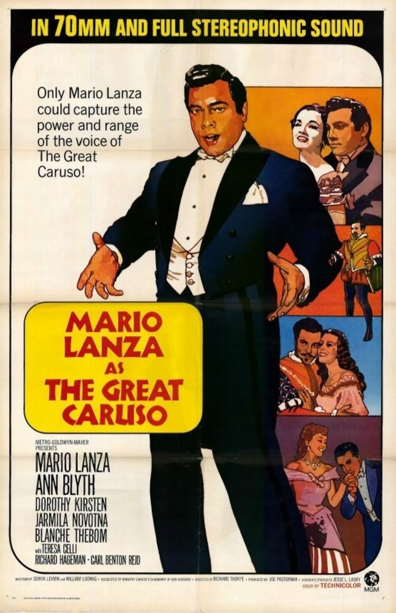 The Great Caruso movie poster