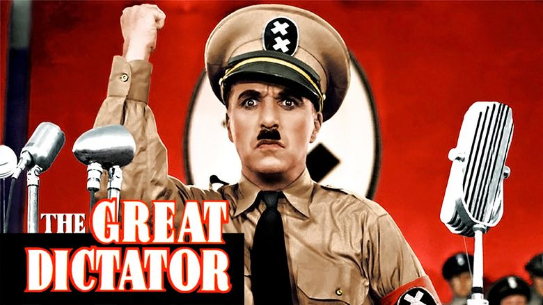 The Great Dictator movie scenes