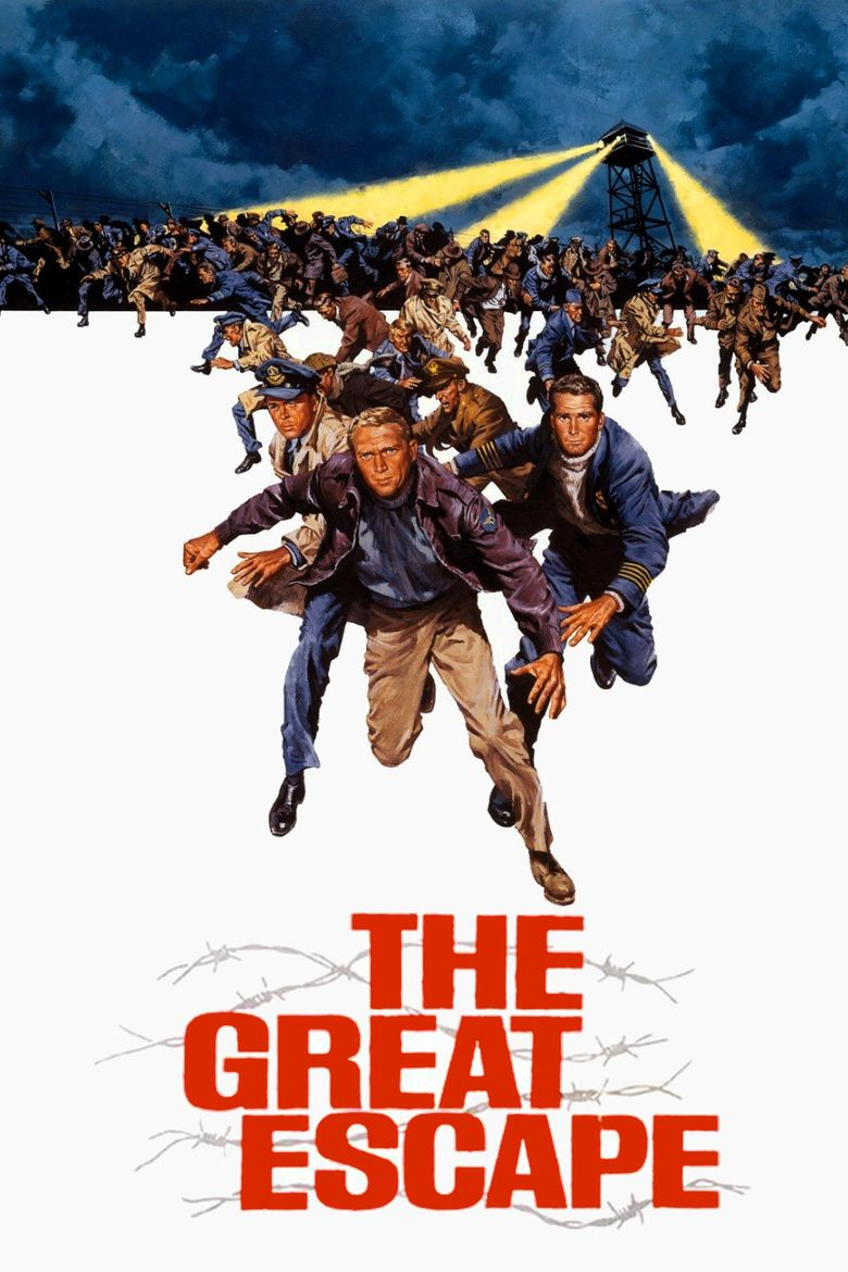 The Great Escape (film) movie poster