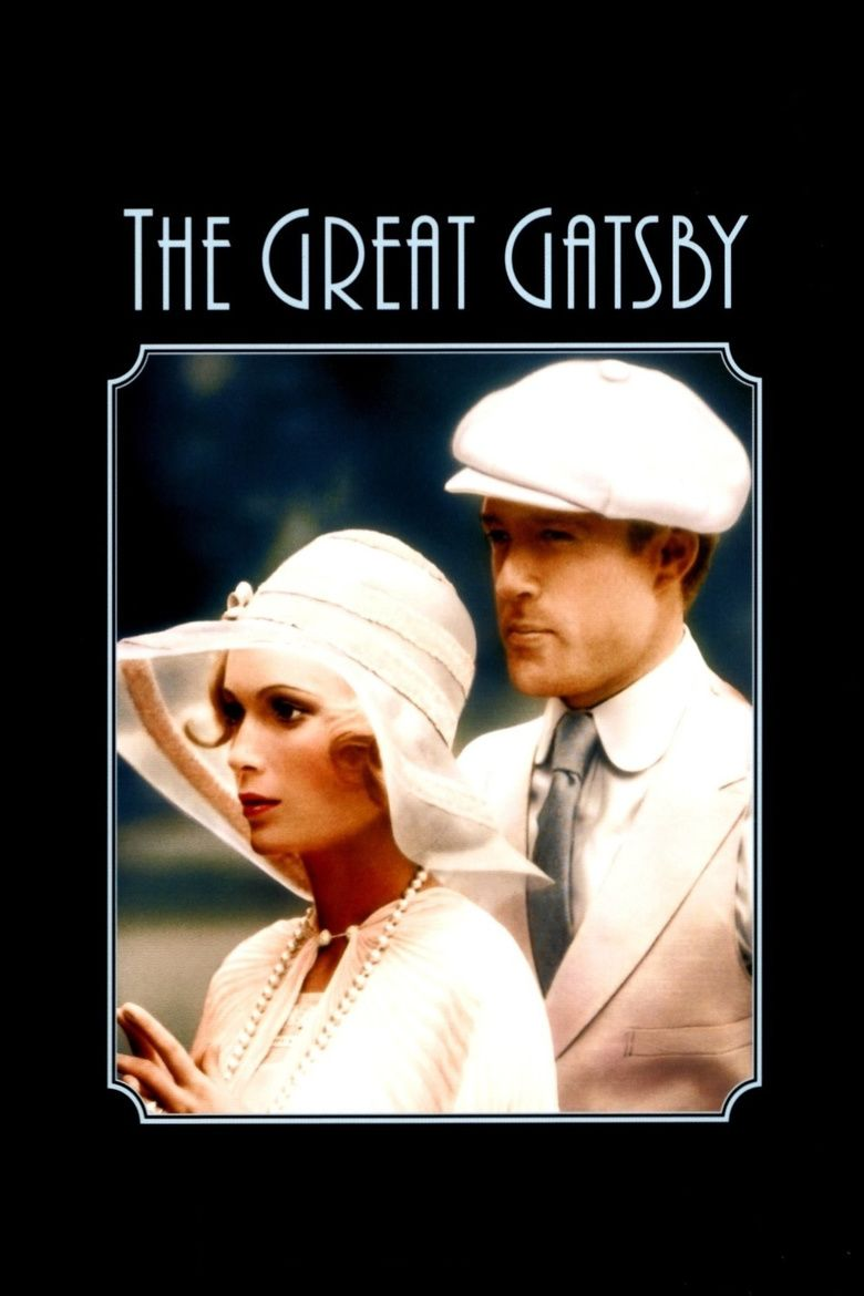 The Great Gatsby (1974 film) movie poster