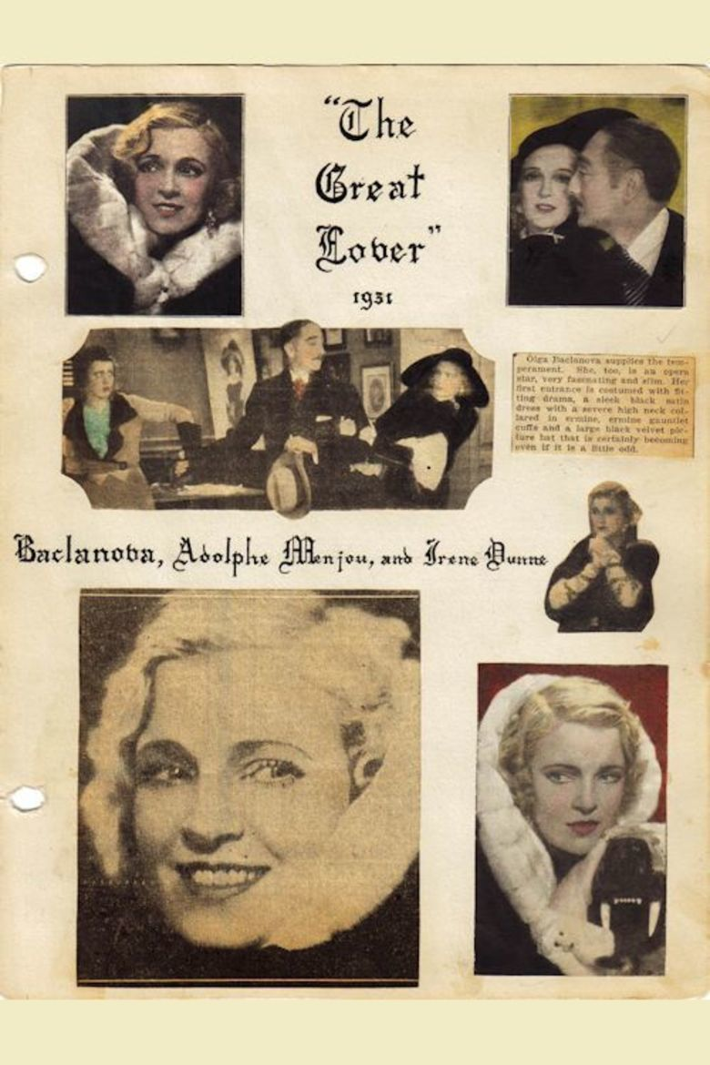 The Great Lover (1931 film) movie poster