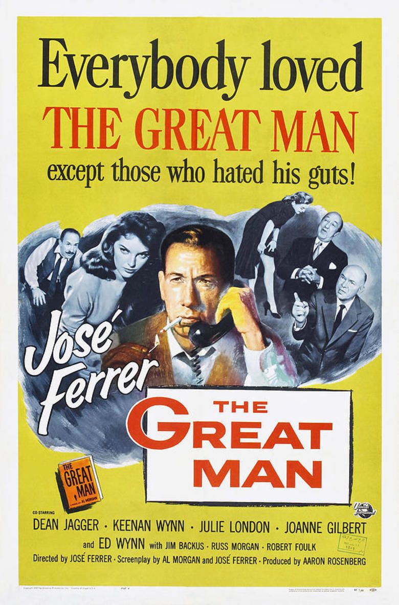 The Great Man movie poster