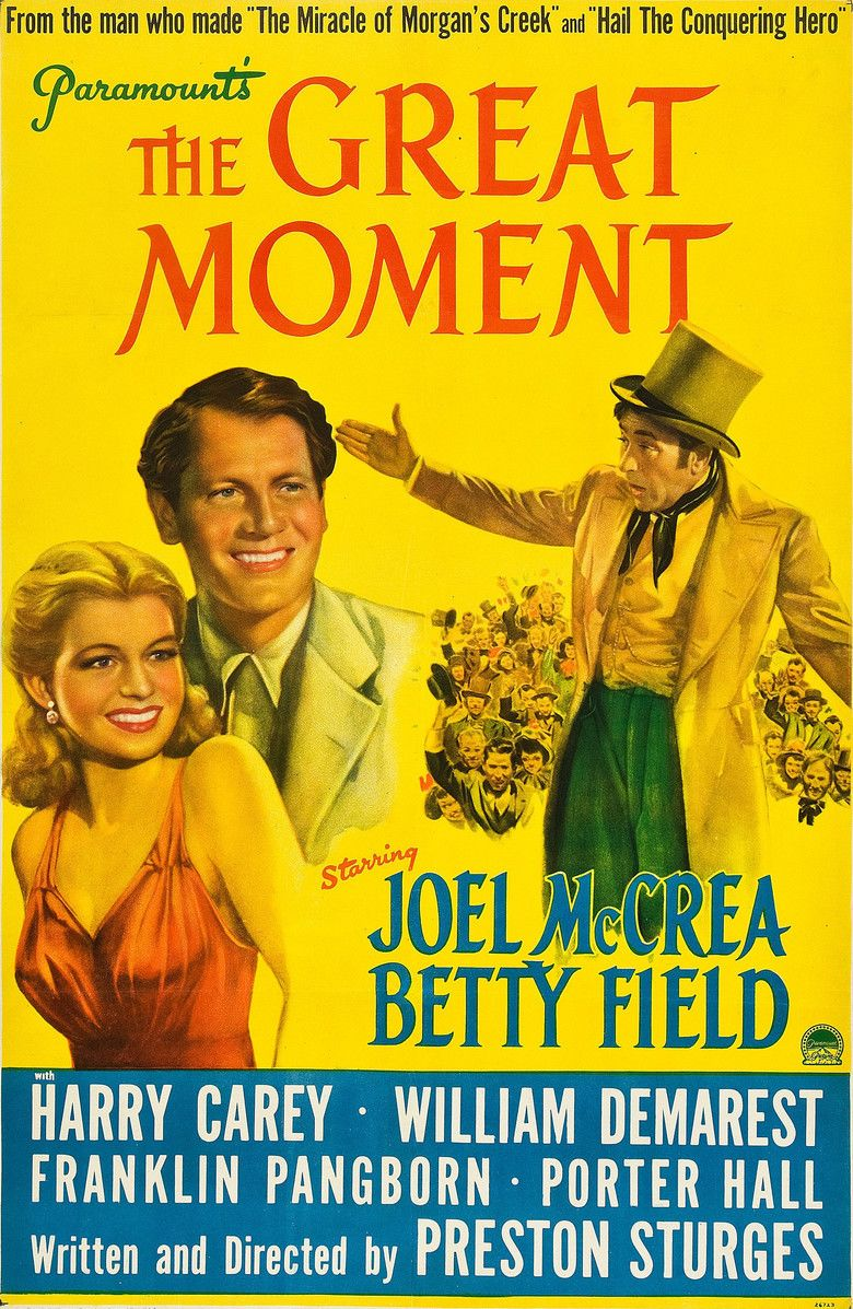 The Great Moment (1944 film) movie poster