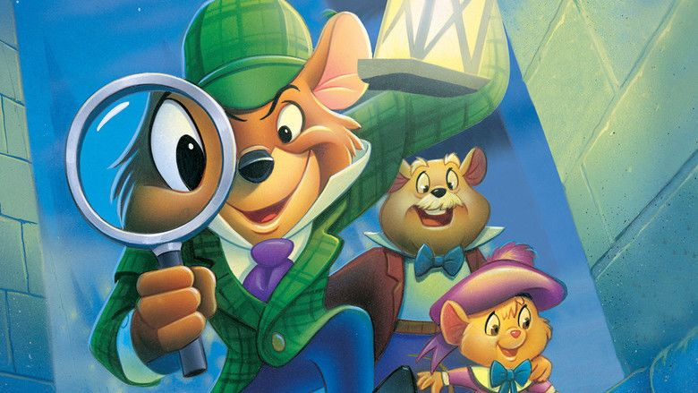 The Great Mouse Detective movie scenes