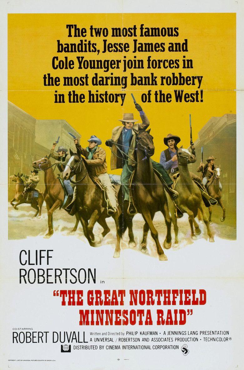 The Great Northfield Minnesota Raid movie poster