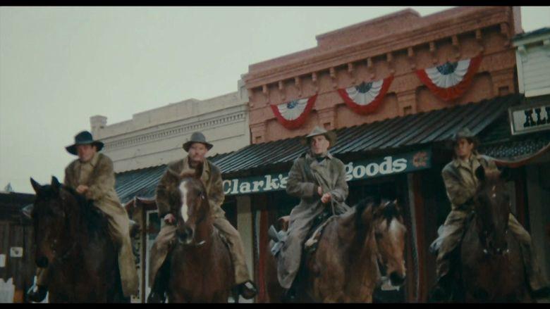The Great Northfield Minnesota Raid movie scenes