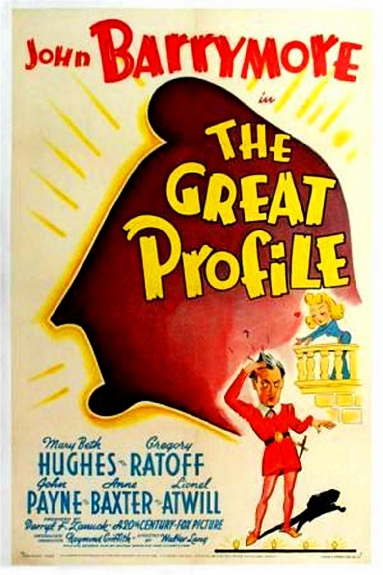 The Great Profile movie poster
