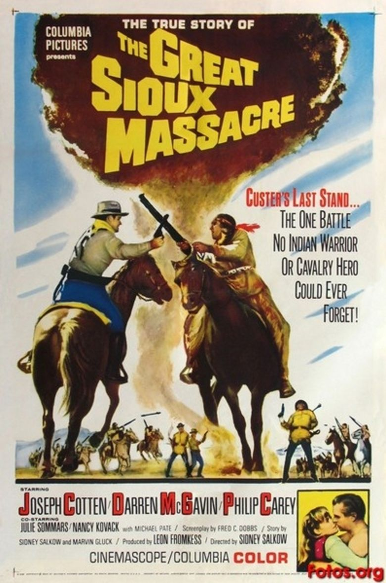 The Great Sioux Massacre movie poster