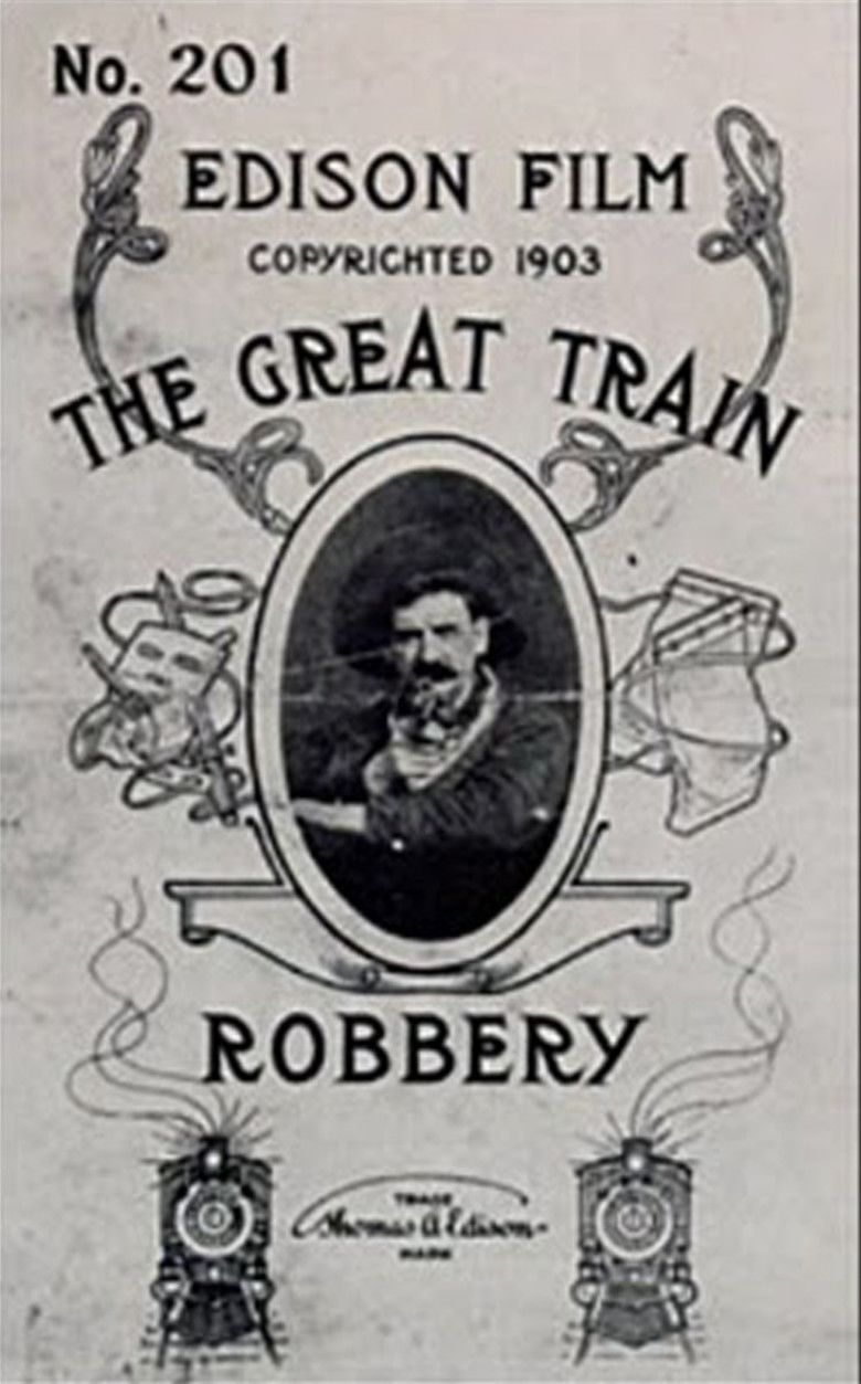 The Great Train Robbery (1903 film) movie poster