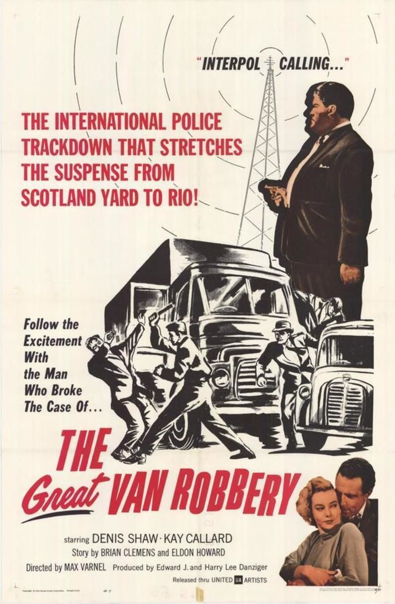The Great Van Robbery movie poster