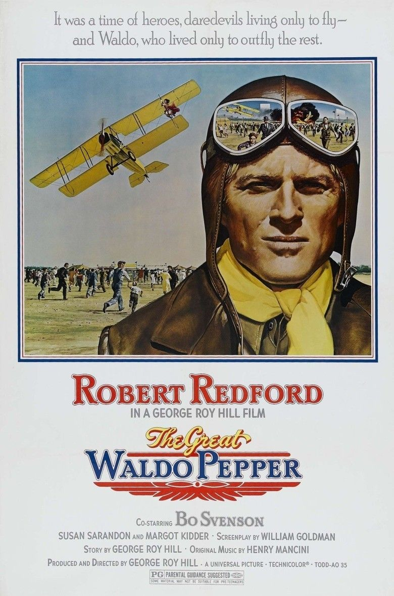The Great Waldo Pepper movie poster