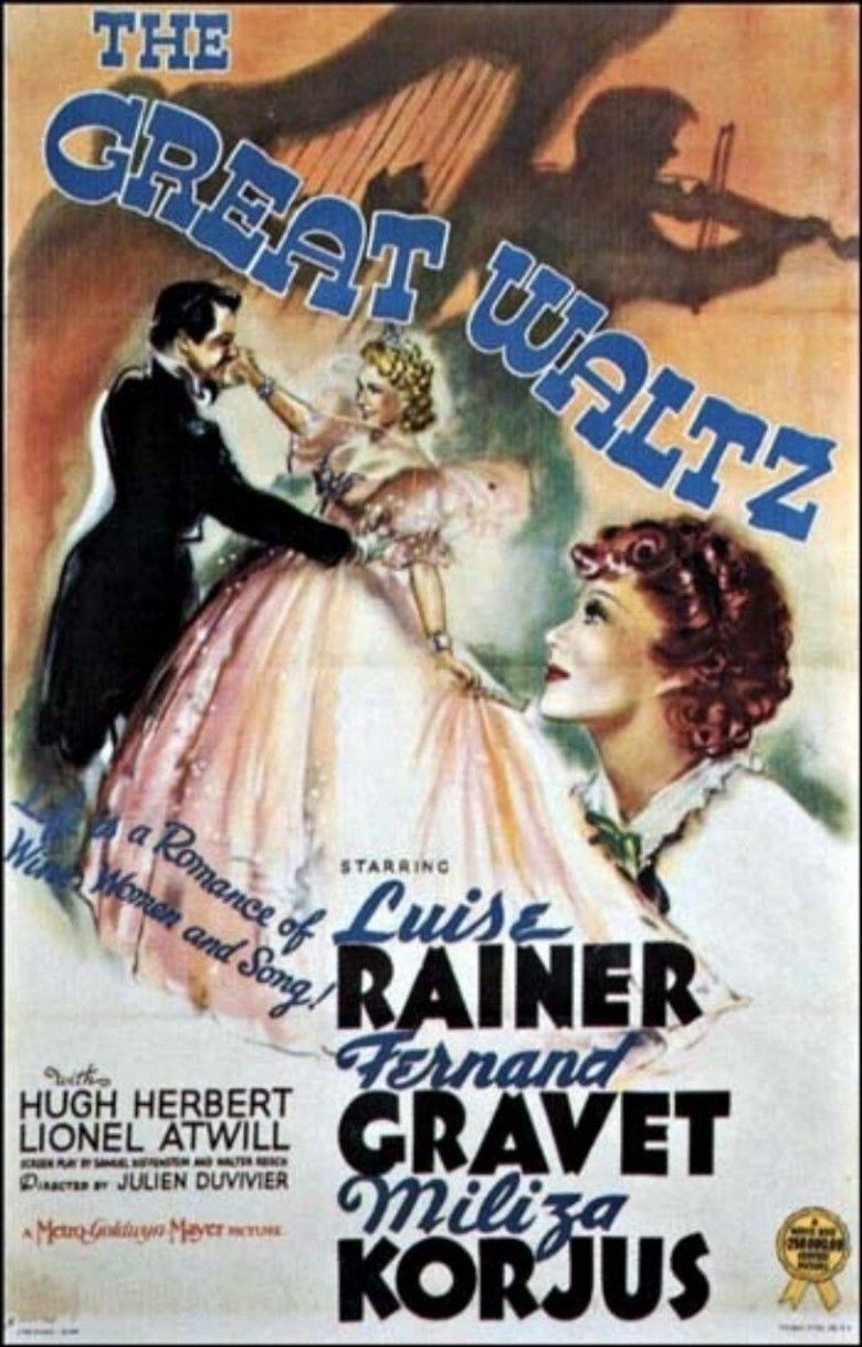 The Great Waltz (film) movie poster