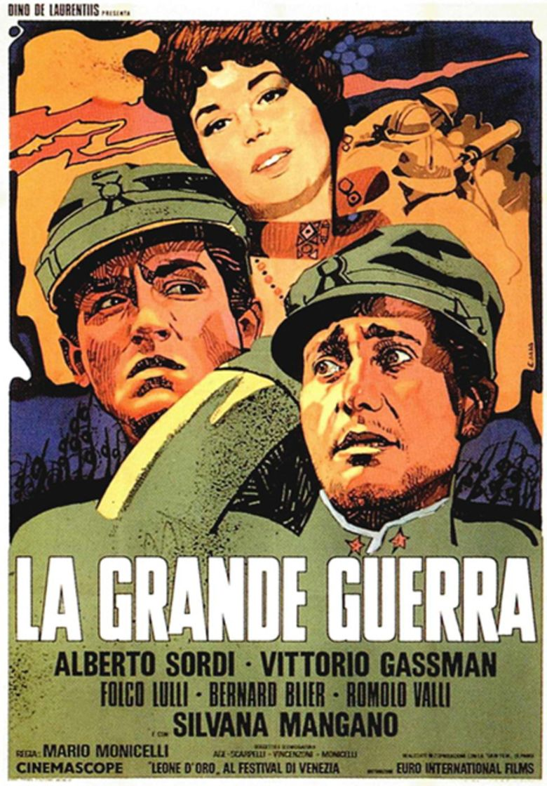 The Great War (1959 film) movie poster