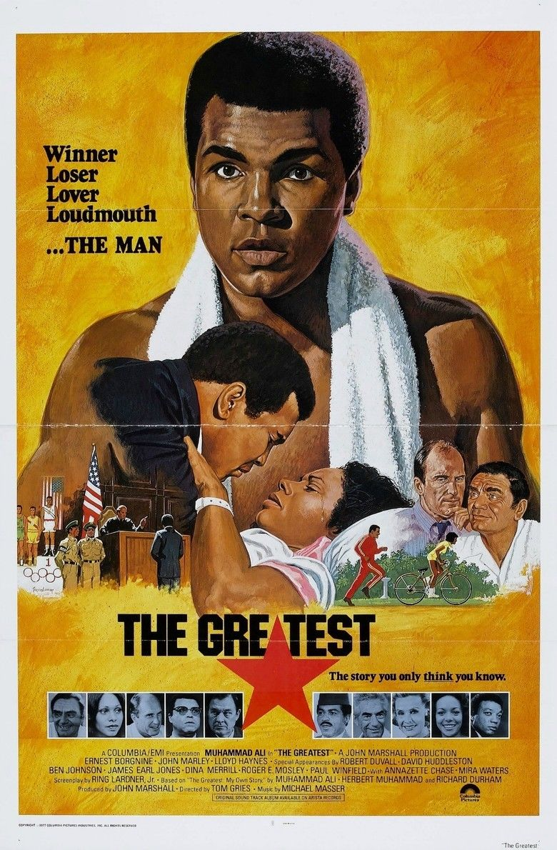 The Greatest (1977 film) movie poster