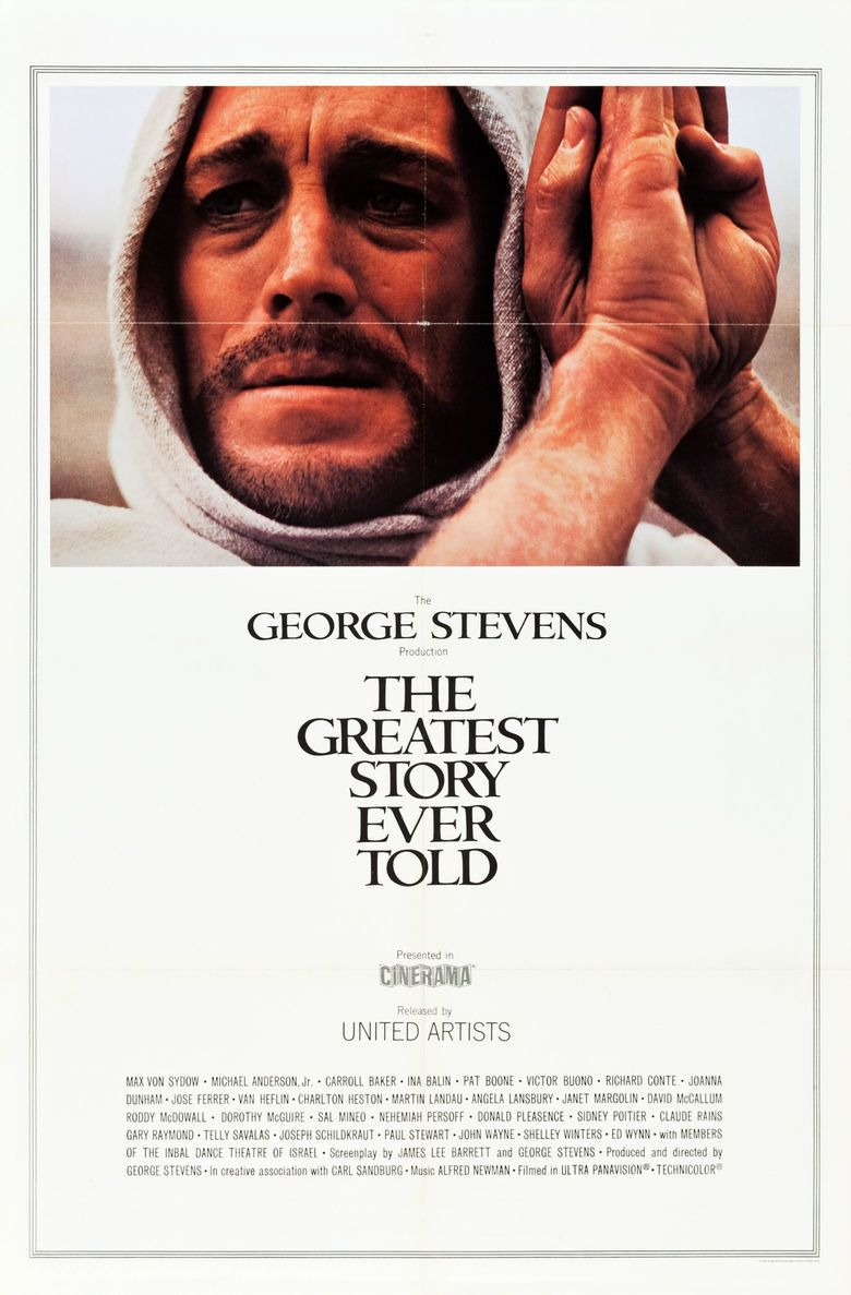 The Greatest Story Ever Told movie poster