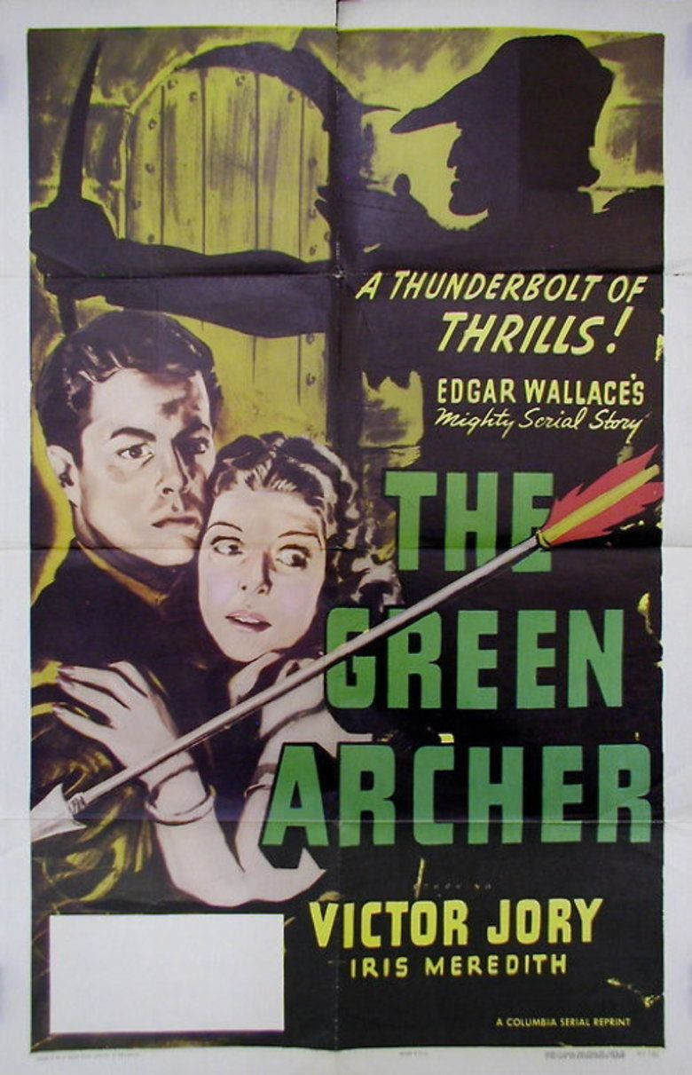 The Green Archer (1940 serial) movie poster