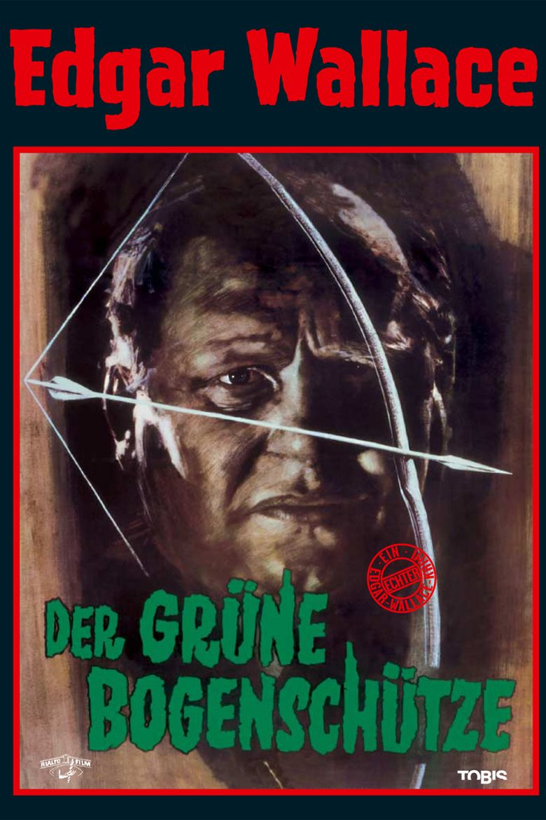 The Green Archer (1961 film) movie poster